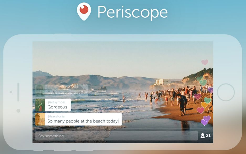Periscope now supports landscape video
